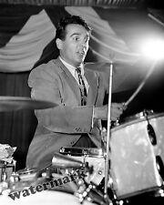 Photograph Musician Drummer Gene Krupa in New York 1946   8x10
