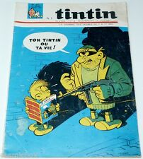 Le journal de TINTIN n° 871 de 1965 magazine ancien revue Michel Vaillant Jari