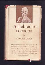 A Labrador Logbook, Sir Wilfred Grenfell, 1938 HC 1st Edition DJ