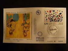 FRANCE PREMIER JOUR FDC YVERT 2914 PEINTURE DE GEORG BASELITZ  6,70F  PARIS 1994