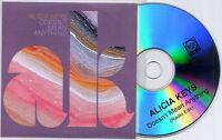 ALICIA KEYS Doesn't Mean Anything UK 1-trk promo test CD