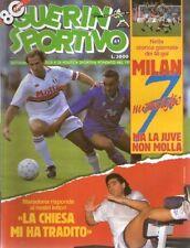 GUERIN SPORTIVO=N°41 1992=MARADONA=DI CANIO=COPPE EUROPEE=48 GOL SERIE A