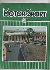 MOTOR SPORT JULY 1963 - MONACO GRAND PRIX / JAGUAR MK10 ROAD TEST / LE MANS