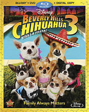 Beverly Hills Chihuahua 3: Viva La Fiesta (Blu-ray/DVD, 2012,