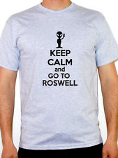 KEEP CALM AND GO TO ROSWELL - Sci fi /Science Fiction /Alien Themed Mens T-Shirt