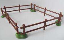 Playmobil: animales de granja/establos Pluma/caballo o pony Paddock Esgrima Nuevo
