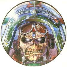 "Picture Disc Iron Maiden 12"" Single Records"
