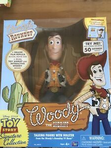 Woody Roundup The Sheriff, Toy Story Signature Collection Thinkway  New Sealed