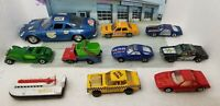 Lot of 10 Vintage Hot Wheels, Matchbox, Polistil, Zee, Lesney Die-cast Toy Cars