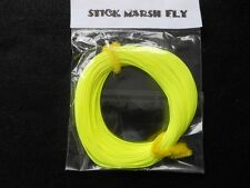 STICK MARSH FLY LINE WF-7-F  WITH EXPOSED LOOP ON LEADER END -- LEMON YELLOW