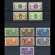 EGYPT 1946 Postage Anniversary & Arab League. SG 307-310 & 315-321. MNH  (WD026)