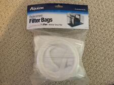 New listing Aqueon ProFlex 200 Micron Filter Bag - 2 pk Aaq100106166