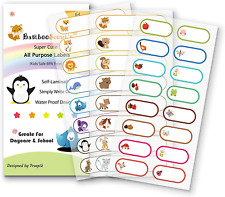 Baby Bottle Labels For Daycareschool Waterproof Write On Self Laminating Name