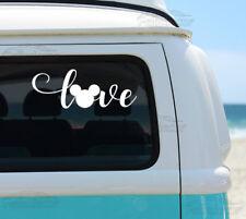 LOVE For Auto Car/Bumper/Window Vinyl Decal Sticker Decals DIY Decor CT037