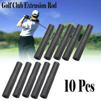 10Pcs Golf Club Graphite Shaft Extension Rods-Extend Iron Putter Extender Sticks