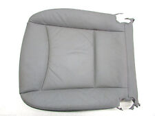 2006 BMW 325 XI Driver Left Bottom Leather Seat Cushion Gray OEM 06 07 08 09 10