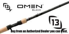 """13 Fishing Omen Black 2 7'0"""" Crankbait Rod"""