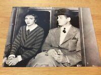 "Claudette Colbert / Clark Gable  (Pressefoto ´79) - ""Es geschah in einer Nacht"""