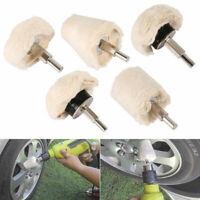 Buffing Pad Polishing Mop Wheel Pads For Drill 5 Pieces Kit Buffer Polish Wheels