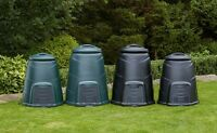 Plastic Compost Bin - Green or Black in either size 220 litre or 330 litre