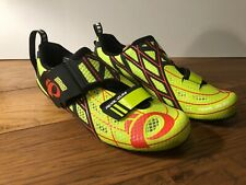 Pearl Izumi Tri Fly P.R.O. PRO v3 Carbon Triathlon Cycling Shoes Lime/Black 41