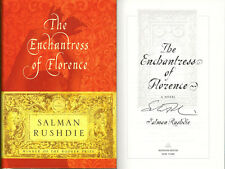 Salman Rushdie SIGNED AUTOGRAPHED The Enchantress of Florence HC 1st Ed 1st Prin