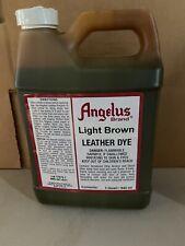 Angelus Light Brown Leather Dye Quart