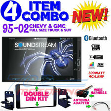 95-2002 GM TRUCK / SUV SCREEN BLUETOOTH DOUBLE DIN CAR STEREO RADIO VM-622HB NEW