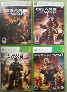 Gears of War games (Microsoft Xbox 360) TESTED