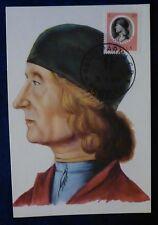FDC CARD - ARTE - PITTORE GIAMBELLINO - 1974