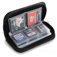 Memory Card Storage Carrying Case Holder Wallet For CF/SD/SDHC/MS/DS 3DS Games G