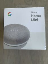 Google Home Mini Smart Speaker with Google Assistant - Chalk Brand New
