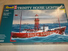 A Revell un-built / un-made plastic kit of the Trinity House lightship.