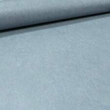 Mid Grey Blue Plain Paste the Wall Smooth Concrete Effect Free Match Wallpaper