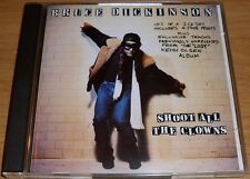 BRUCE DICKINSON SHOOT ALL THE CLOWNS CD UK IMPORT CD 1 OF 2 INCLUDES PRINTS