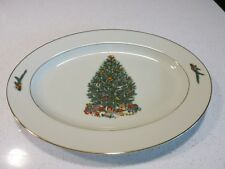 ROYAL GALLERY CHRISTMAS TREE 6377 OVAL PLATTER