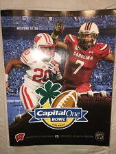 2014 Capital One Bowl Program - Wisconsin vs South Carolina