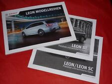 SEAT Leon Reference Style FR Cupra 265 290 Prospekt Brochure Preisliste von 2016