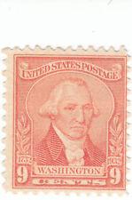 Scott # 714 - 9c Pale red - Washington - Mnh