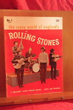1964 ROLLING STONES magazine The Crazy World Of Englands's Rolling Stones USA