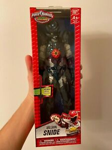 "Power Rangers Dino Super Charge Snide Villain 12"" Inch Action Figure"