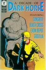 A Decade of Dark Horse # 4 (of 4, sampler, concrete, Godzilla) (USA, 1996)
