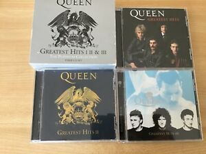 Queen platinum collection greatest hits 1,2,3 box set cds