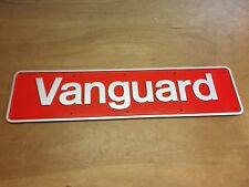British Rail English Electric Class50 Vanguard 50024  Name Plate Replica