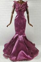 EVENING W ~ DRESS ~ BARBIE DOLL HARLEM THEATRE SELMA DUPAR JAMES SATIN LACE GOWN