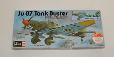 Vintage 1/72 Revell Ju 87 Tank Buster G-2 or D-5 1975 issue R9878