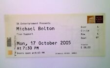 RARE Michael Bolton Memorabilia - Ticket Stub Royal Albert Hall 17/10/05