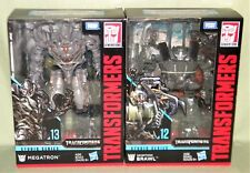 MEGATRON & BRAWN Transformers Studio Series Voyager 2018 SET OF 2 IN HAND!