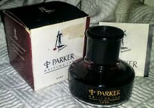 PARKER PENMAN Ink RARE RUBY RED 50 mL Bottle/BOX from UK NEW VINTAGE ~US SELLER~
