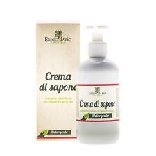 Crema di sapone Naturale Erbecedario, latte detergente per corpo e viso